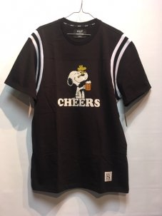 HUF × Peanuts Cheers football Jersey