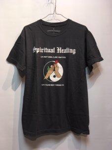JUNGLES Spiritual Healing Tee Chacoal