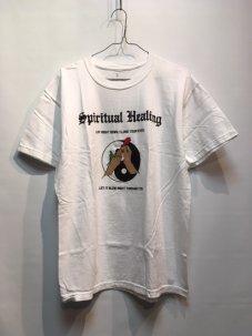 JUNGLES Spiritual Healing Tee White