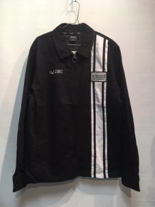 HUF × Spitfire Racing Jacket Black