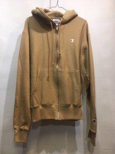 Champion Zip-Up Reverse Weave Hoodie Sweatshirt