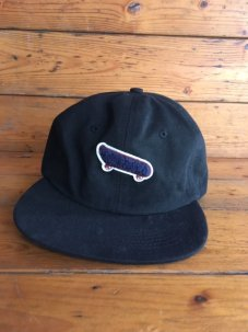 Port Longbeach Skate Team cap ブラック