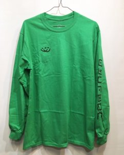 Doubles ltd OG SMILEY L/S Green