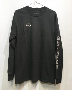 Doubles ltd OG SMILEY L/S BLK
