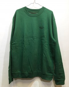 <img class='new_mark_img1' src='//img.shop-pro.jp/img/new/icons5.gif' style='border:none;display:inline;margin:0px;padding:0px;width:auto;' />Doubles ltd OG SMILEY Sweat Shirts Green