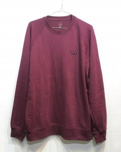 Doubles ltd OG SMILEY Sweat Shirts Maroon