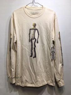 <img class='new_mark_img1' src='//img.shop-pro.jp/img/new/icons5.gif' style='border:none;display:inline;margin:0px;padding:0px;width:auto;' />Kurt Cobain Kurt Was Here Skeleton Long Sleeve Tee