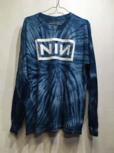 Nine Inch Nails タイダイ Tie-Dye Long Sleeve Tee