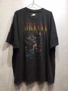 Nirvana Unplugged Tee Washed Black