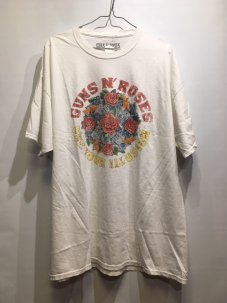 Guns N' Roses Use Your Illusion  Tee ホワイト
