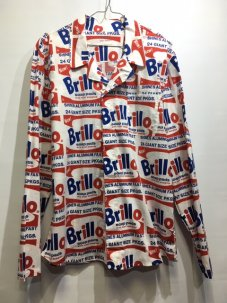 Calvin Klein X Andy Warhol Brillo Box Woven シャツ