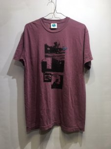 Doubles ltd Diver Shirt Washed Berry