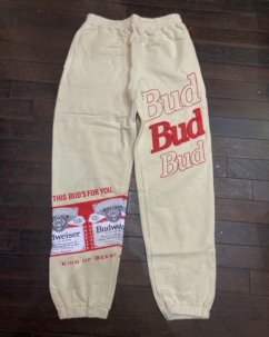 <img class='new_mark_img1' src='https://img.shop-pro.jp/img/new/icons5.gif' style='border:none;display:inline;margin:0px;padding:0px;width:auto;' />Budweiser Bud Label Sweatpant