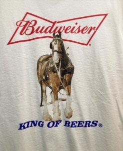 Budweiser King Of Beers Horse Tee