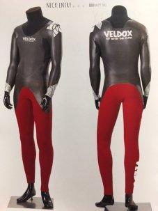 VELDOX ベルドックス セミドライ WETSUITS VAD (NECK ENTRY) 2016MODEL