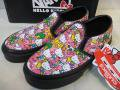 Vans×Hello Kitty バンズ 子供 Slipon Black