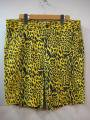 Koto コト Cheetah Print Short 33インチ Yellow