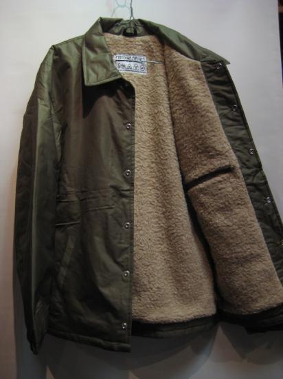 00e692d7ed Freedumb Airlines フリーダムエアラインズ Sherpa Jacket Mサイズ OLIVE ...