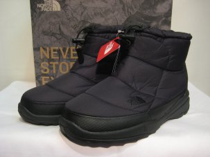 THE NORTH FACE ノースフェイス NUPTSE BOOTIE WP IV SHORT BLACK