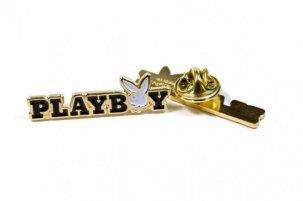 GOOD WORTH X PLAYBOY RABBIT TEXT PIN