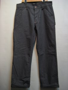 BRIXTON ブリクストン FLEET RIGID CARPENTER PANT W32 グレー