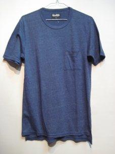 good life グッドライフ ポケット付き Tシャツ Sサイズ ブルー