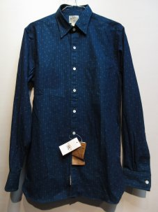 RRL ���֥륢���륨�� PRINTED INDIGO DRESS ����� ����ǥ���