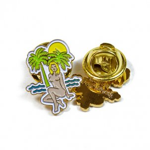 GOOD WORTH Tropics Pin