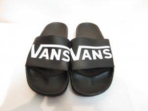 VANS バンズ SLIDE-ON スリッパ— ブラック