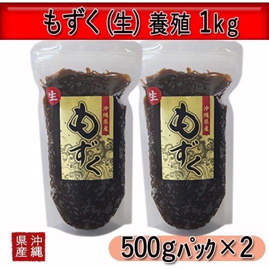 もずく(生)養殖 1kg [冷凍]