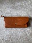 CINQ 長財布(キャメル)