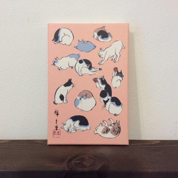 御朱印帳/歌川広重(猫)浮世画譜