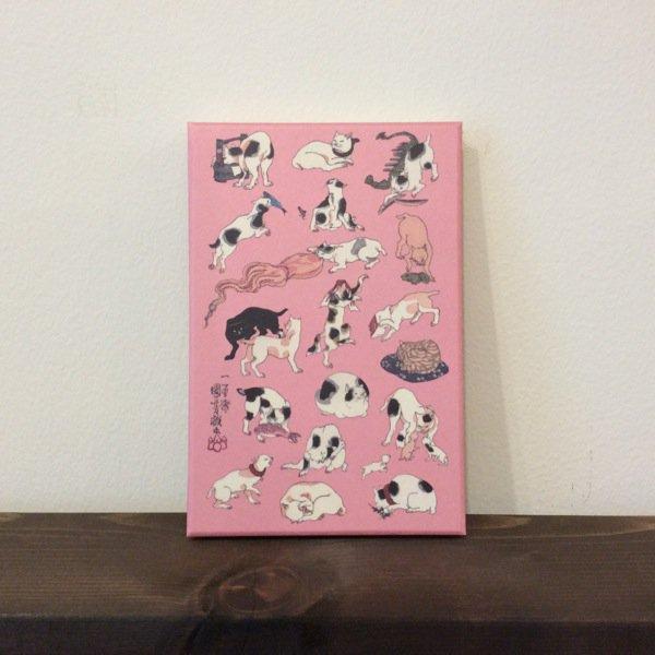 御朱印帳/歌川国芳(猫)猫飼好五十三疋