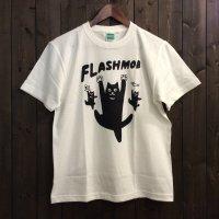【悪意1000%】Tシャツ フラッシュモブ(オフホワイト)