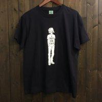 【悪意1000%】Tシャツ ねこっかぶり(ネイビー)