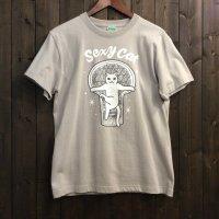 【悪意1000%】Tシャツ セクシーキャット(シルバー)