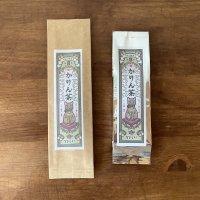 おちゃらか×王冠印雑貨店コラボ かりん茶(フレーバー緑茶)