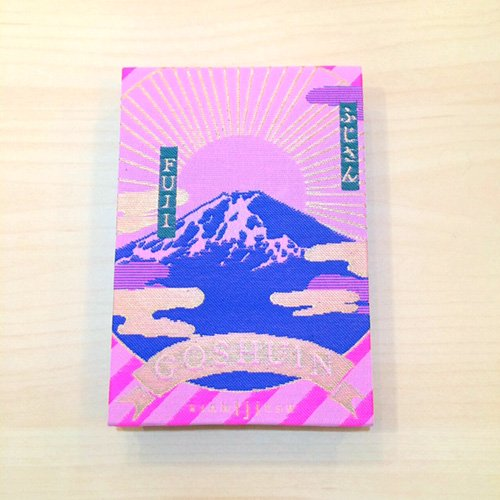 【kichijitsu】GOSHUINノート(御朱印帳)ふじさん