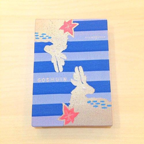 【kichijitsu】GOSHUINノート(御朱印帳)紅葉