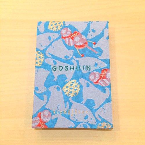 【kichijitsu】GOSHUINノート(御朱印帳)犬