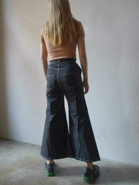 MARQUES ALMEIDA-HIGH WAISTED FLARES<img class='new_mark_img2' src='//img.shop-pro.jp/img/new/icons20.gif' style='border:none;display:inline;margin:0px;padding:0px;width:auto;' />