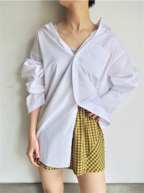 VAQUERA-RAW HEM BUTTON DOWN