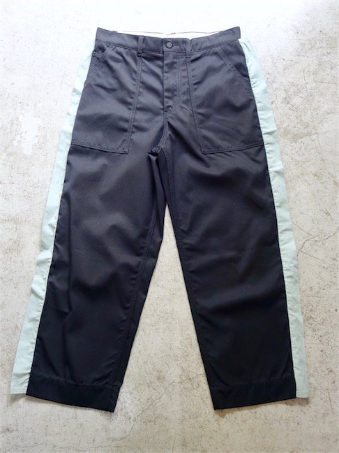 CRAIG GREEN-FIN WORKER TROUSERS/BLACK<img class='new_mark_img2' src='//img.shop-pro.jp/img/new/icons10.gif' style='border:none;display:inline;margin:0px;padding:0px;width:auto;' />