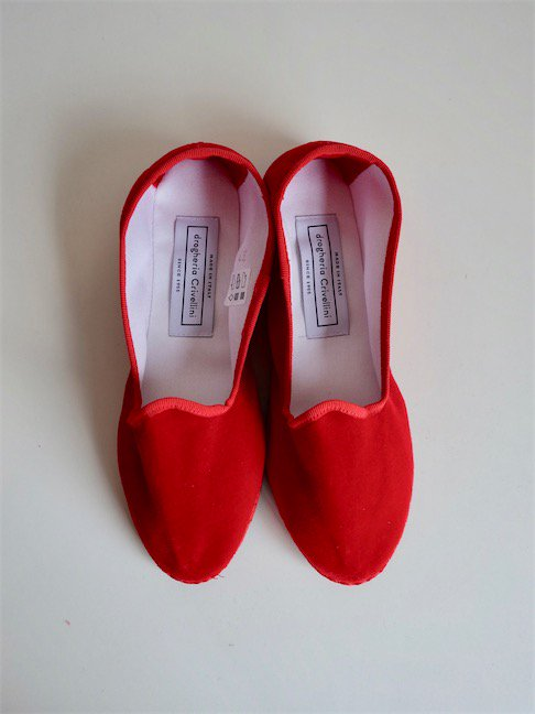 DROGHERIA CRIVELLINI-SLIPON SHOES/RED<img class='new_mark_img2' src='//img.shop-pro.jp/img/new/icons10.gif' style='border:none;display:inline;margin:0px;padding:0px;width:auto;' />