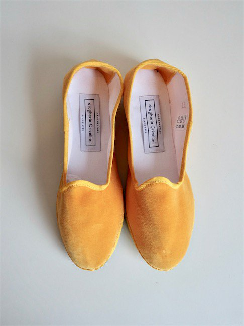DROGHERIA CRIVELLINI-SLIPON SHOES/MUSTERD<img class='new_mark_img2' src='//img.shop-pro.jp/img/new/icons10.gif' style='border:none;display:inline;margin:0px;padding:0px;width:auto;' />