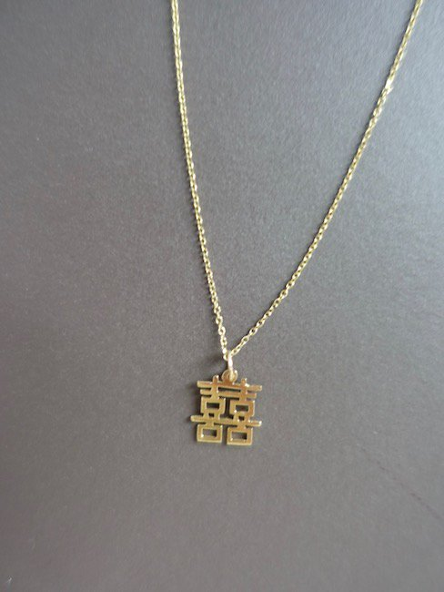 <PRE ORDER>AFTER SHAVE CLUB- TEXT  NECKLACE/漢字
