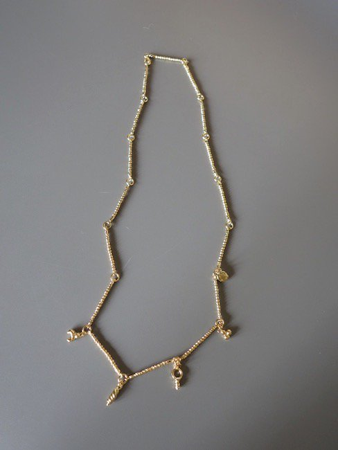 CRISTINA JUNQUERO-DE LA MADRE NECKLACE