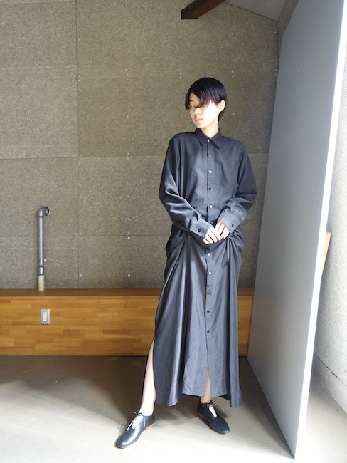 RENATA BRENHA-SISTER VEVA SHIRT DRESS/BLACK