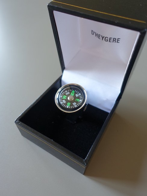 D'HEYGERE-COMPASS RING