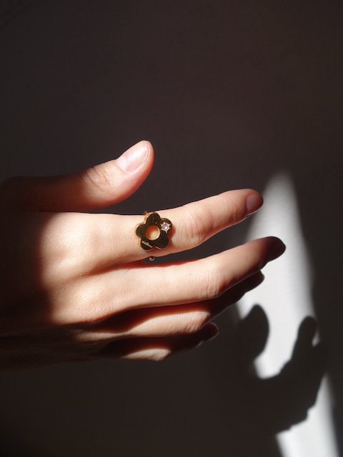 <PRE ORDER>mellow-florets ring/gold